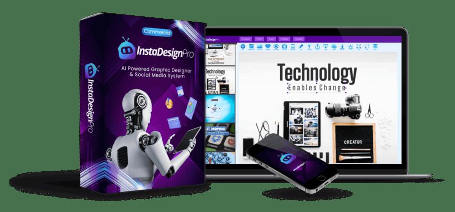 InstaDesign PRO Review – New AI Powered Designer App Automatically Makes Unique Visuals